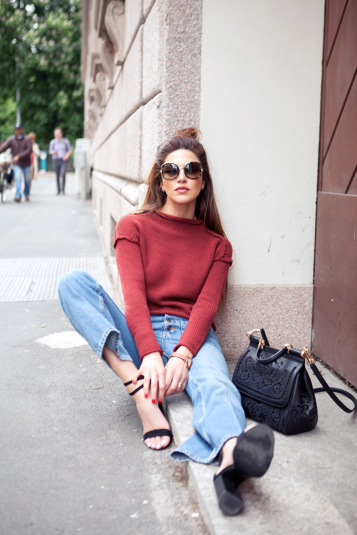 turtleneck outfit inspiration fashion blogger Negin Mirsalehi